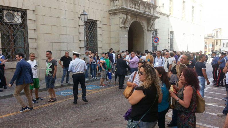FOTO - A Catanzaro è il giorno di Claudio RanieriIl racconto per immagini dell'evento