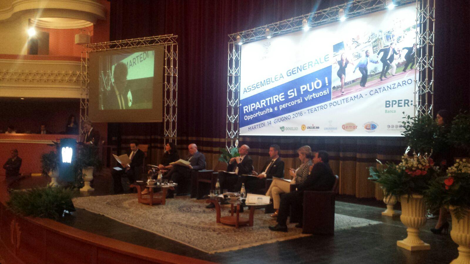 L'auspicio degli industriali: «La Calabria sia laboratorio»Boccia: «Sperimentare attraendo capitali privati»