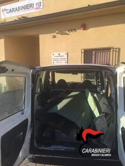 Rubano materiali in un capannone del porto  Arrestate due persone a Gioia Tauro