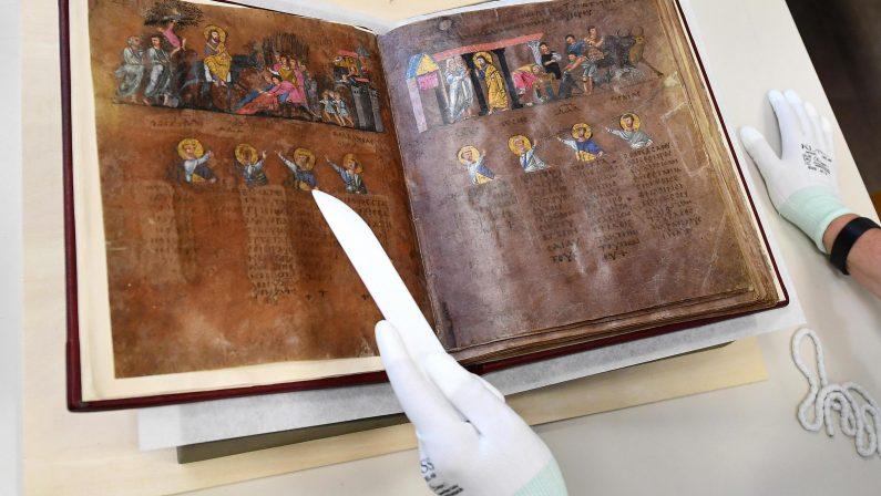 Una Lectio magistralis e un concerto di Vecchioni  In onore del Codex Purpureus Rossanensis
