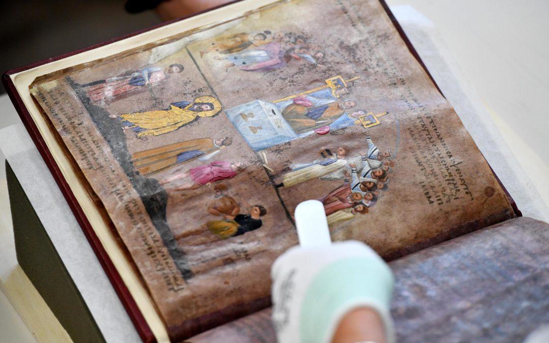 Il Codex Purpureus Rossanensis sarà esposto a Rossano  Dopo il rientro in Calabria sarà visitabile dal 2 luglio