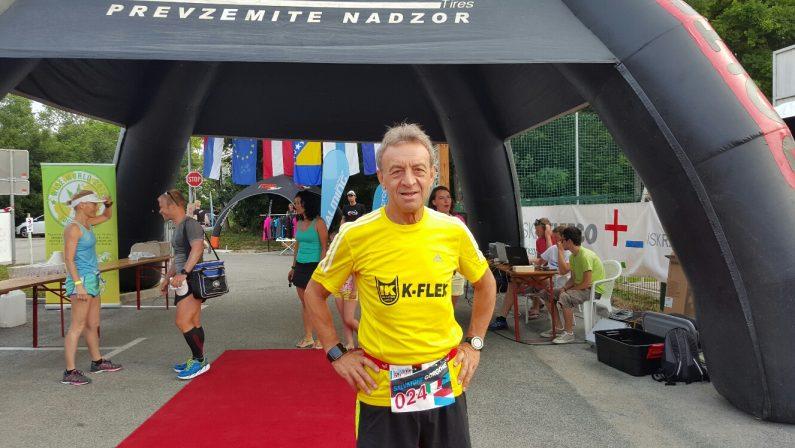 Il podista cosentino Gorgone correrà in Alaska  Il maratoneta ancora in gara a 66 anni