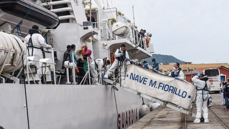 Circa 500 migranti in arrivo al porto di Reggio Calabria