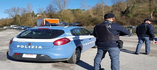 Controlli della Polizia, due denunce ad Avellino
