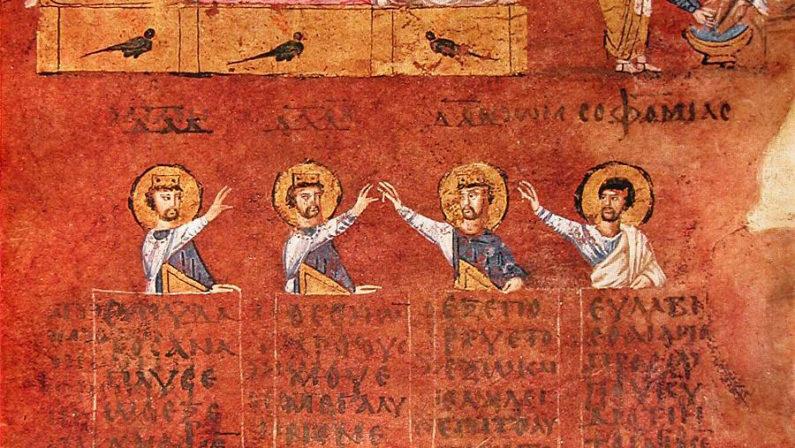 Meraviglia dell'umanità riconosciuta nel mondo Torna a casa il Codex Purpureus Rossanensis