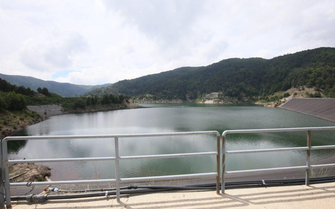 La diga sul Menta in Calabria