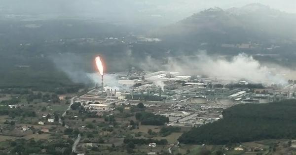 Guasto e fiammata anomala al Centro Oli Val d'Agri