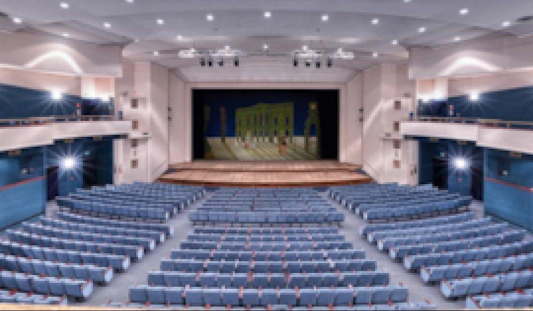 Un teatro vuoto