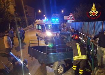 Incidente stradale a Mercogliano, un ferito