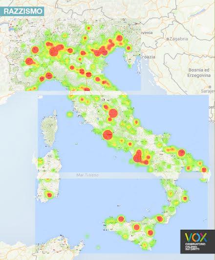 Lo studio: Calabria e Basilicata regioni più tolleranti nella mappa dei tweet offensivi e omofobi
