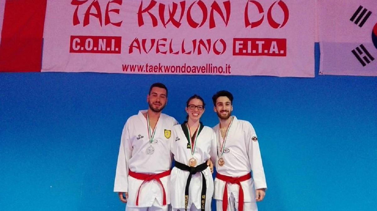 Asd Taekwondo Avellino, tre medaglie ai campionati italiani di Reggio Calabria