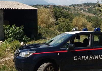 Opere abusive a Bagnoli Irpino, due i responsabili fermati dai Carabinieri