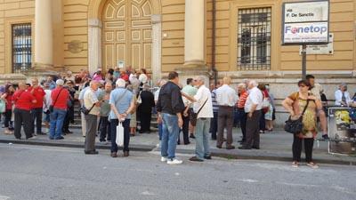 Avellino, caos alla posta centrale: pensionati in rivolta