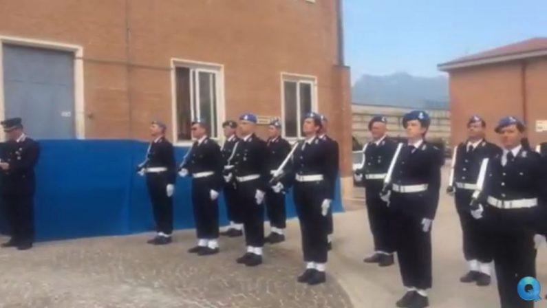 VIDEO - Cerimonia di intitolazione del carcere di Avellinoad Antimo Graziano ucciso dalla camorra