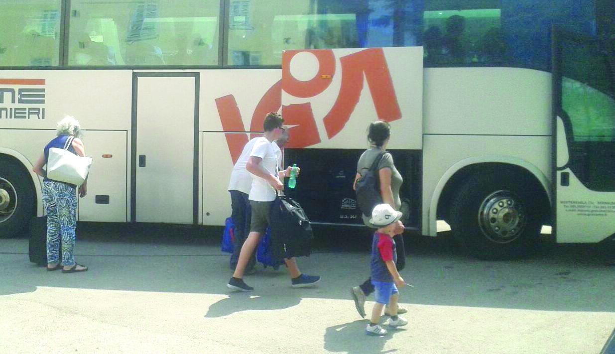 Ferrovie, Intercity soppresso, i viaggiatori in stradaA Metaponto anziani e bambini sotto il sole