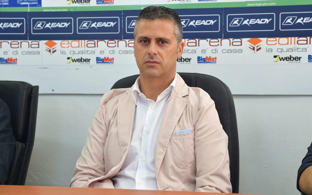 Vibonese, presentato l'allenatore Costantino: «Possiamo fare bene»