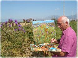 Il pittore calabrese Franco Azzinari dedicauna mostra monografica a Francis Ford Coppola