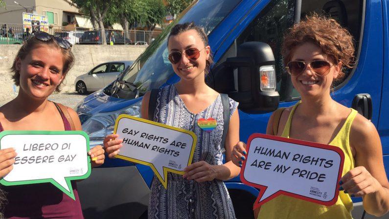 Gay pride a Tropea: un corteo per chiedere maggiore rispetto per i diritti umani