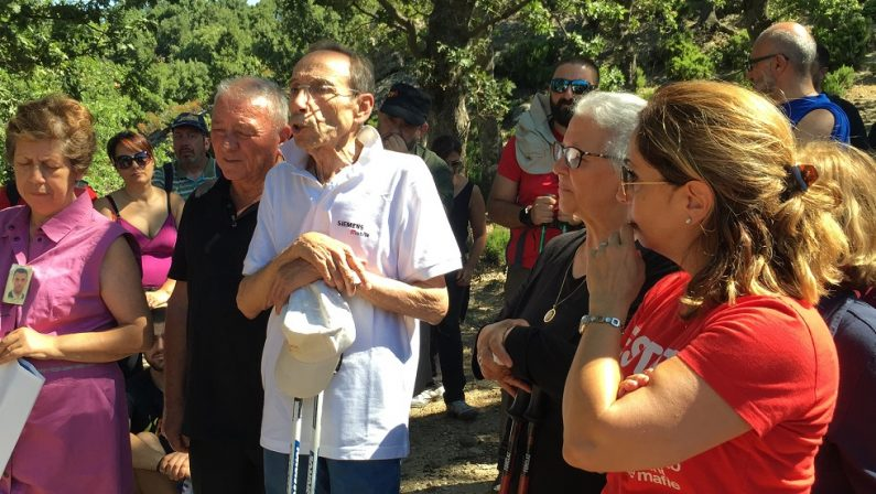 FOTO - Quella marcia in Aspromonte in ricordo di tutte le vittime della 'ndrangheta