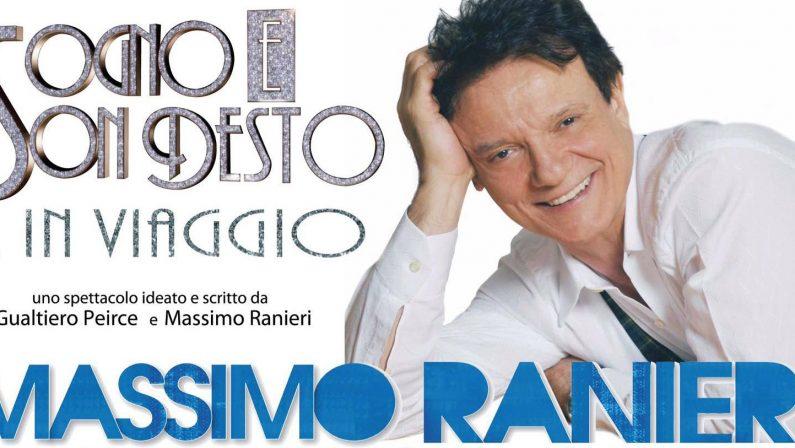 Massimo Ranieri il 14 luglio porta i suoi sogni alla Cava del Sole di Matera