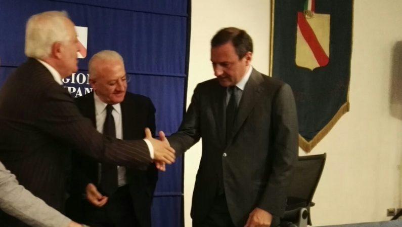 """Differenziata, in Regione Campania firmato accordo """"Quadro"""" per l'avvio di nuovi servizi"""