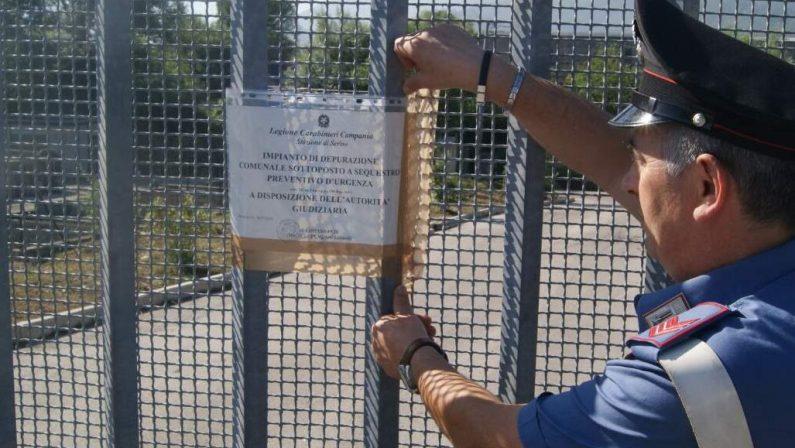 Sversamenti illeciti nel Torrente Barre irpino: scoperte sette persone e sequestro dell'impianto