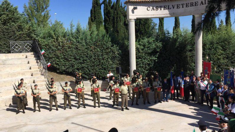 A Castelvetere giornata all'insegna della storia e dei caduti in guerra