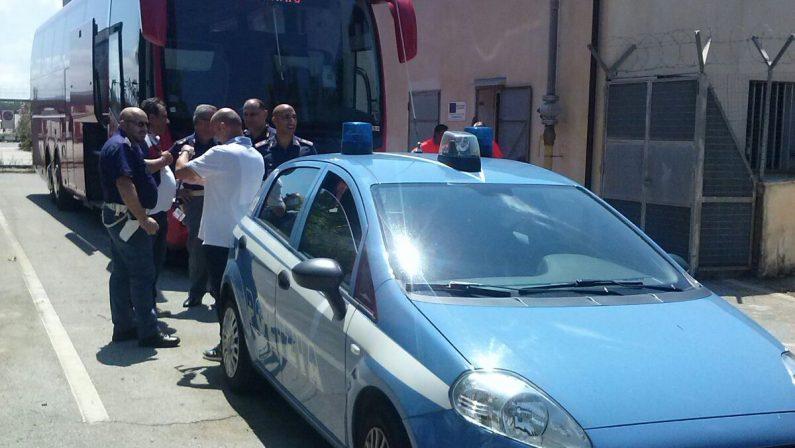 FOTO - Il giorno di Crotone-Atletico MadridL'attesa all'aeroporto e l'arrivo degli spagnoli