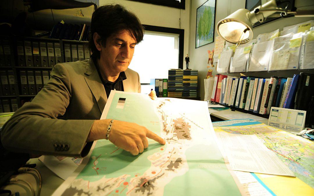 Il responsabile della Protezione civile in Calabria, Carlo Tansi