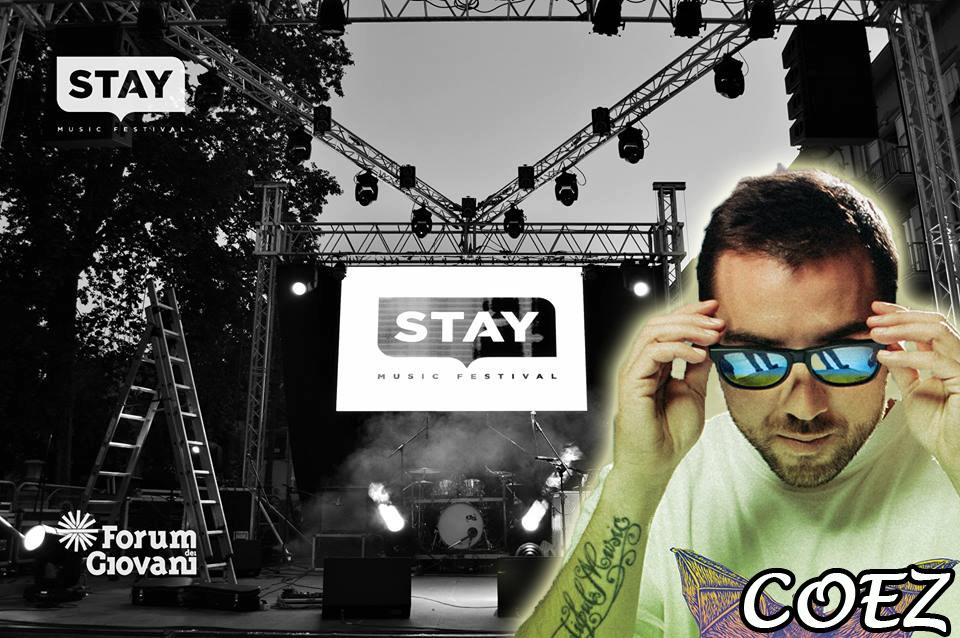 """Ad Avellino torna lo """"Stay Music Festival"""": il rap di Coez dà il via alla tre giorni"""
