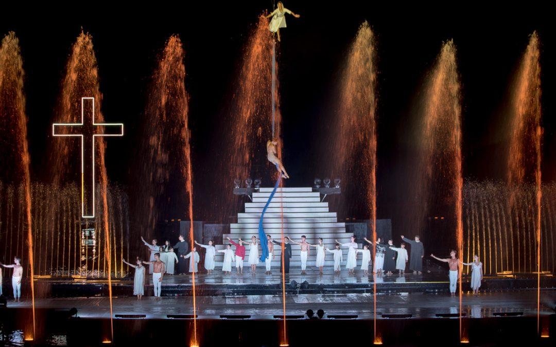Grande Spettacolo dell'Acqua, magia e solidarietà per oltre venticinquesima presenze in Irpinia