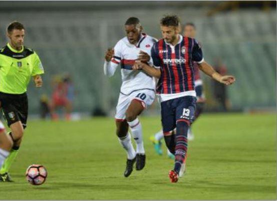 Serie A, pari del Crotone col Genoa di JuricMa Nicola accusa l'arbitro per un rigore negato