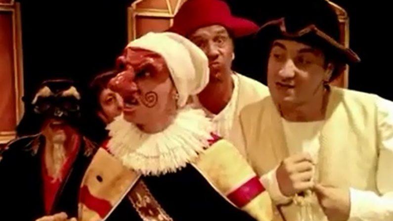"""Giangurgolo arriva a Tropea, il principe di Danimarca di Mazzotta a """"Teatro d'aMare"""""""