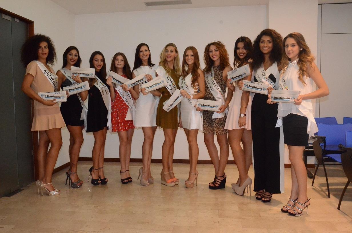 Miss Italia: ecco le calabresi più belle che andranno alle finali di Jesolo