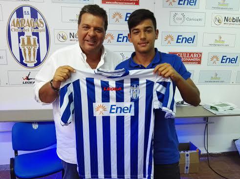 Alessio Leveque spicca il volo in Serie CUfficiale l'accordo con l'Akragas