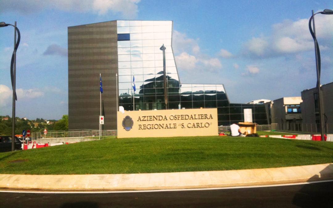 L'ospedale San Carlo di Potenza