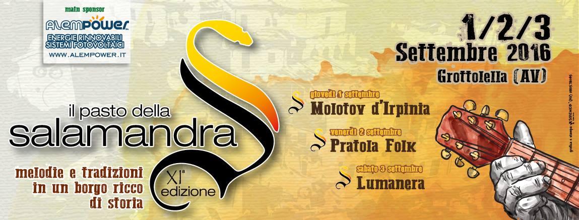 """Arte, teatro, cultura e gastronomia: a Grottolella si alza il sipario sulla tre giorni de """"Il Pasto della Salamandra"""""""