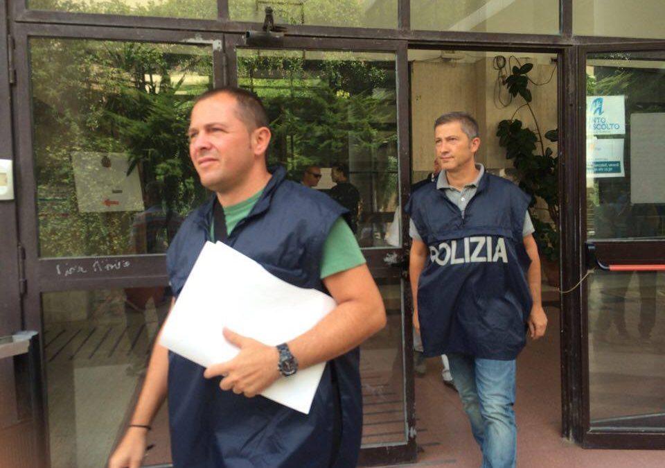 Blitz della Mobile al Comune di Avellino: nel mirino la gestione dello Stadio Partenio-Lombardi