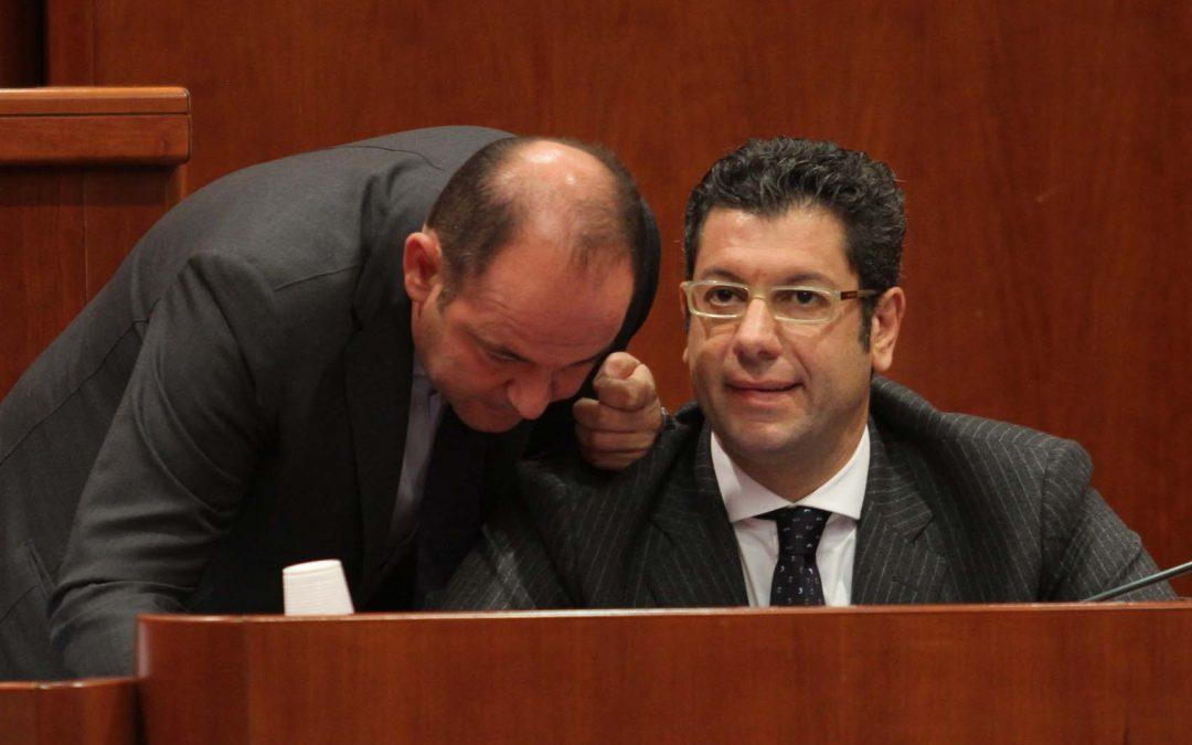 Il senatore Antonio Caridi e Giuseppe Scopelliti