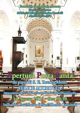 Ad Altavilla Irpinia l'apertura della Porta Santa con il Vescovo di Benevento
