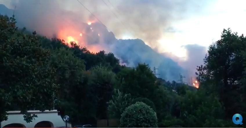 Incendi, Basilicata a rischio: è tra le 6 regioni senza flotta aerea