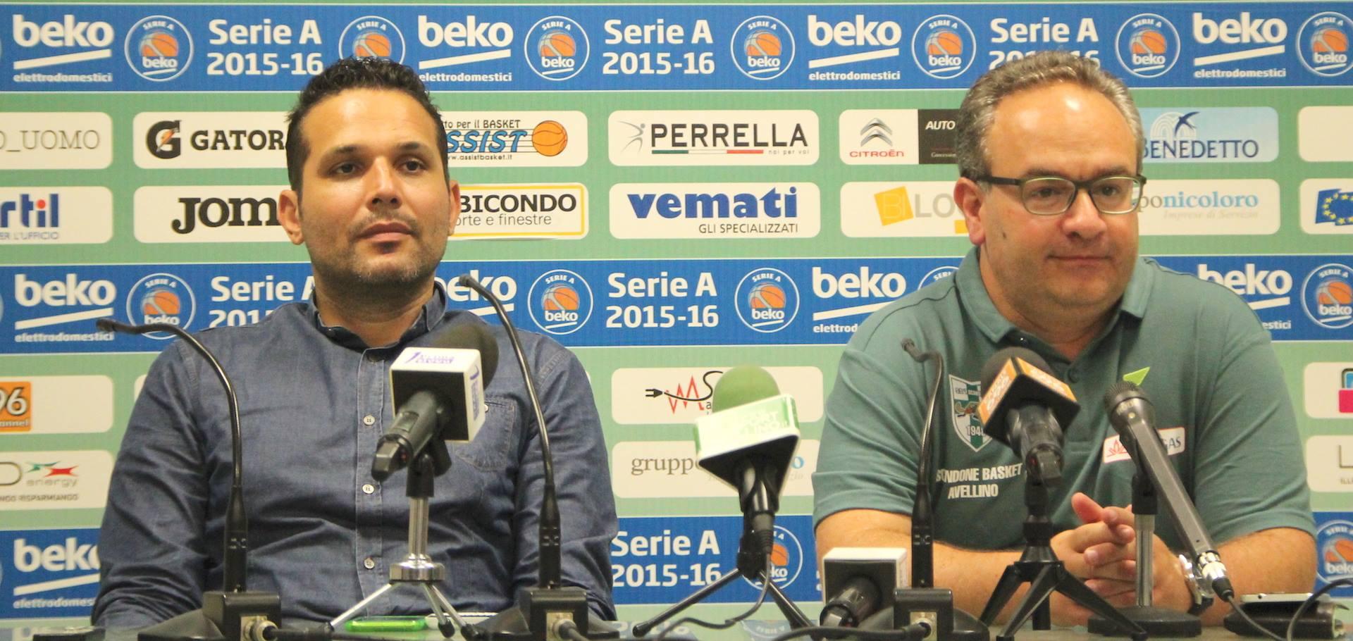 Basket, la Sidigas Avellino pronta per la nuova stagione. Coach Sacripanti: voglio gente che suda la maglia