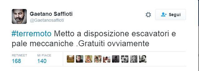 Terremoto devasta il centro Italia, parte la solidarietà di imprenditori e politici calabresi