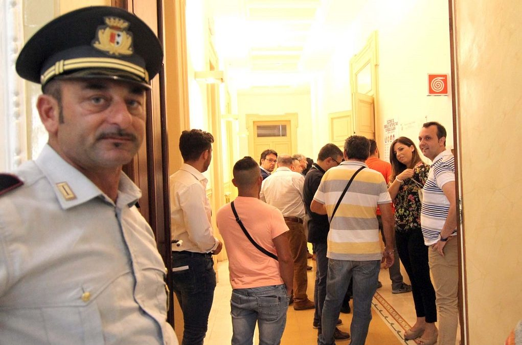 FOTO – Il seggio per l'elezione del primo consiglio metropolitano di Reggio Calabria