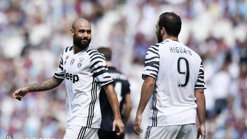 Juve corsara a Londra: nel giorno di Higuain il gol decisivo al West Ham è del lucano Zaza