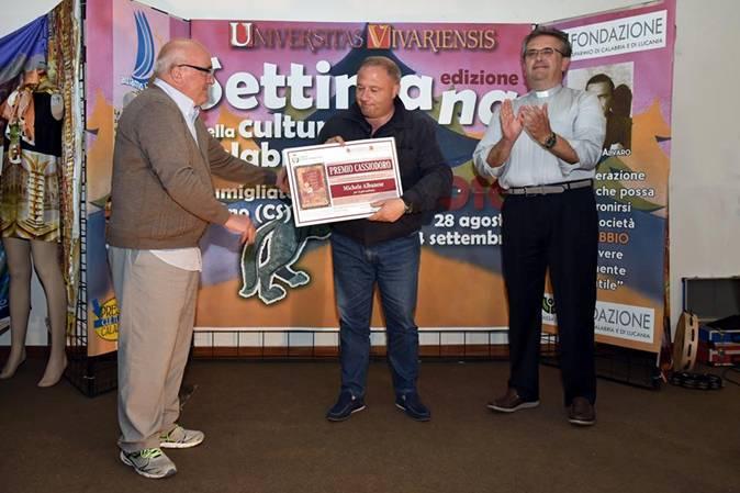 Si è chiusa la settimana della cultura calabreseConsegnato il premio Cassiodoro, tutti i vincitori