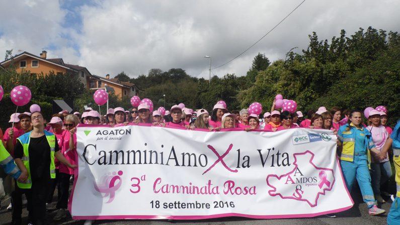 """""""La prevenzione salva la vita"""", il corto dela """"Camminata rosa"""" da Mercogliano ad Avellino"""