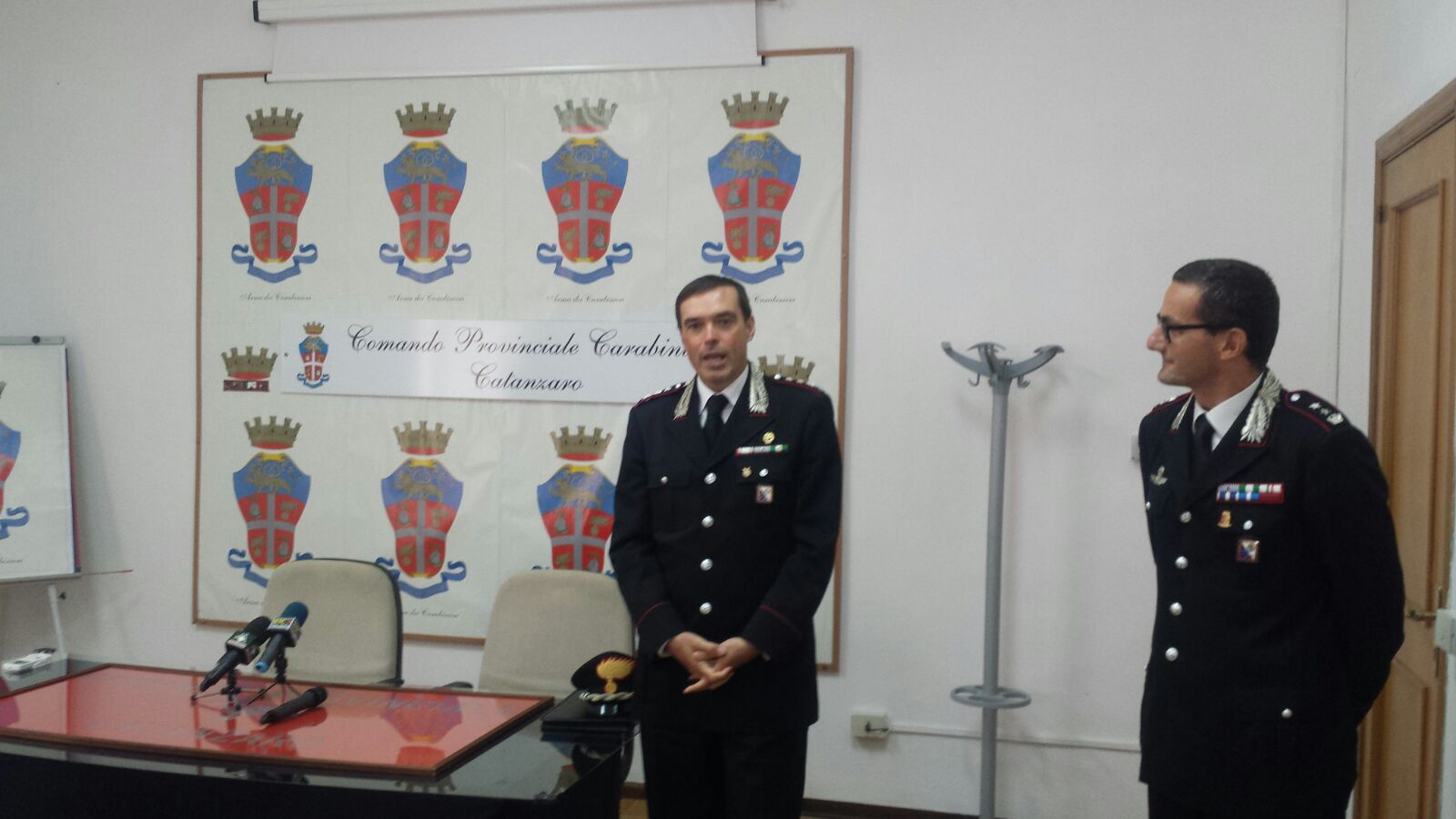 Carabinieri, nuovo comandante provinciale a CatanzaroIl colonnello Pecci:«Importante lavoro sinergico»
