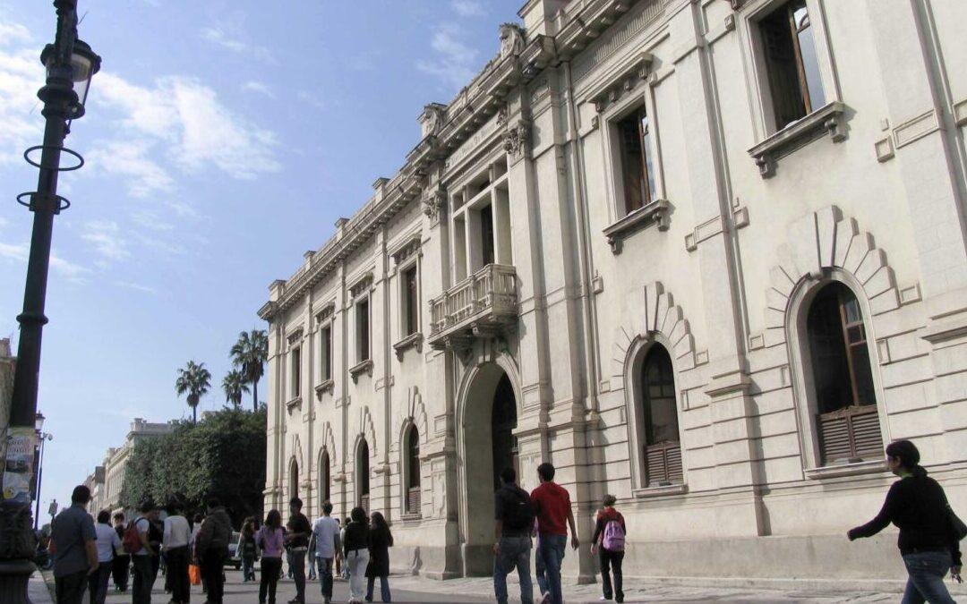 Il palazzo comunale di Reggio Calabria