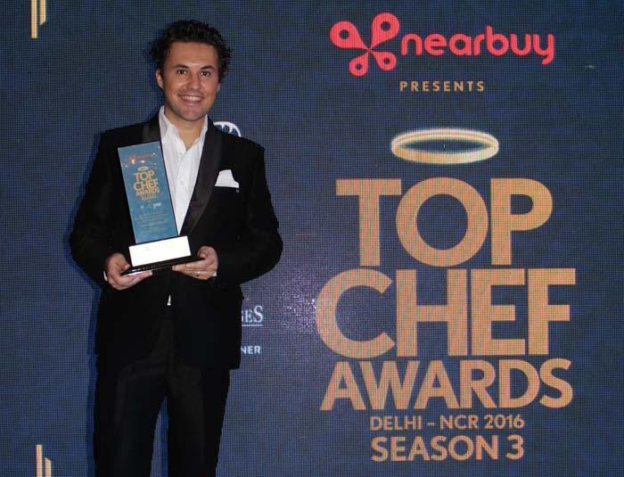 """Cucina, nuovo successo internazionale per Luigi FerraroAllo chef calabrese il""""Top Awards 2016"""" in India"""